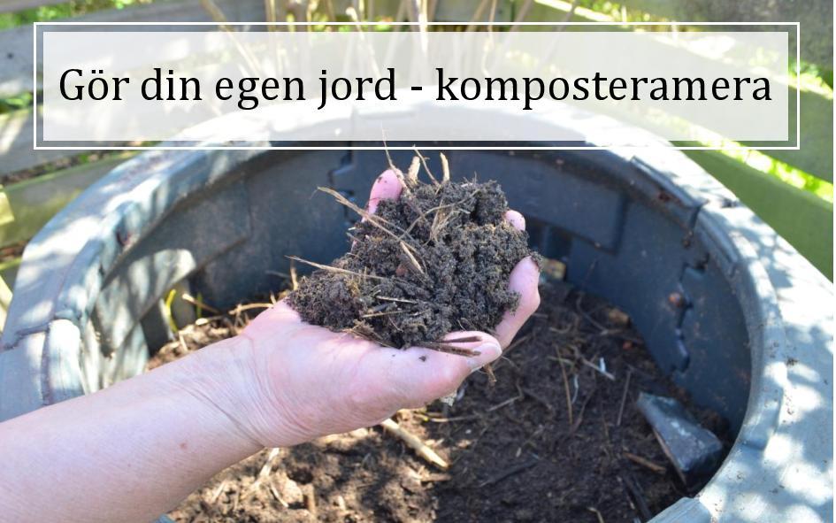 Gör din egen jord – kurs i kompostering